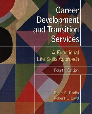 Career Development and Transition Services