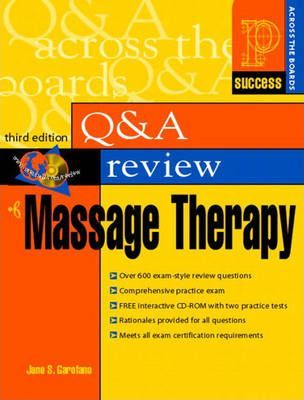 Prentice Hall Health's Question & Answer Review of Massage Therapy