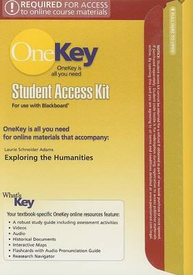 OneKey Blackboard, Student Access Kit, Introduction to the Humanities, Combined: Combined
