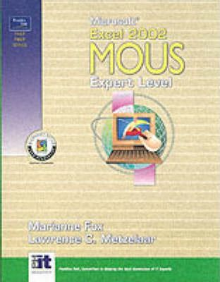 Microsoft Excel 2002 MOUS: Expert Level
