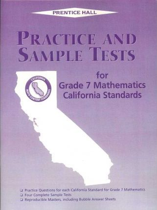 Practice and Sample Tests for Grade 7 Mathematics
