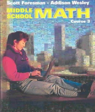 Middle School Math 3e Student Edition and Practice Workbook Course 3 2002c