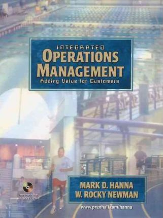 Integrated Operations Management and Student CD:Adding Value for Customers
