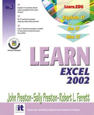 Learn Excel 2002 Volume I