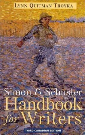 Simon and Schuster Handbook for Writers, Canadian Edition