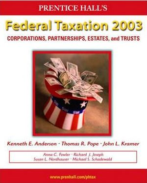 Prentice Hall Federal Taxation 2003