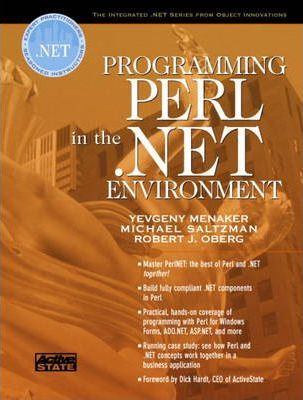 Programming Perl in the.NET Environment