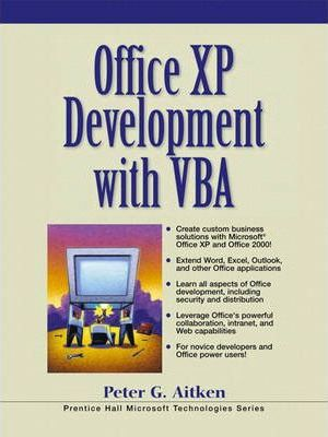 Office Xp Development with Visual Basic for Applications