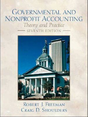 Governmental and Non-Profit Accounting