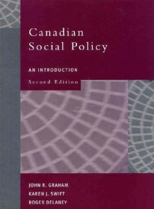 Canadian Social Policy
