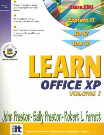 Learn Office XP Volume I