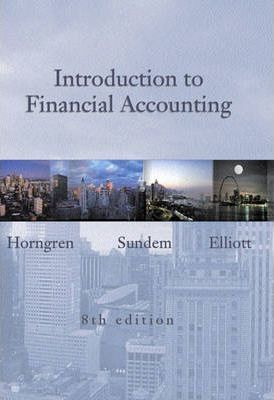 Introduction to Financial Accounting and Student CD package
