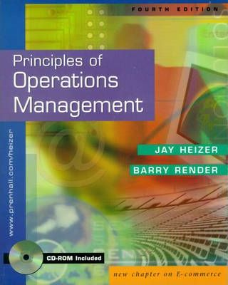Principles of Operations Management and Interactive CD Package