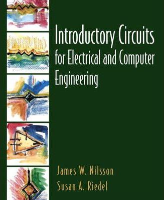Introductory Circuits for Electrical and Computer Engineering: with PSpice Manual/M Package