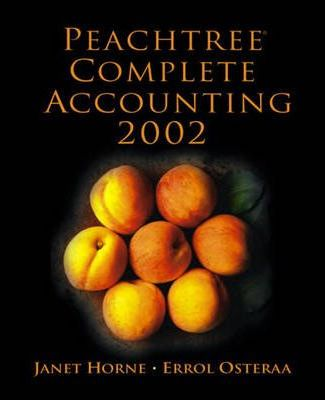 Peachtree Complete Accounting 2002