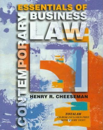 Essentials of Contemporary Business Law with Total Law CD-ROM