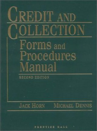 Credit Collection Forms Procedures HB