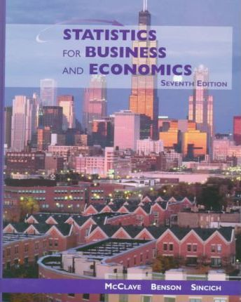 Statistics for Business and Economics & Microsoft Excel Supplement Package