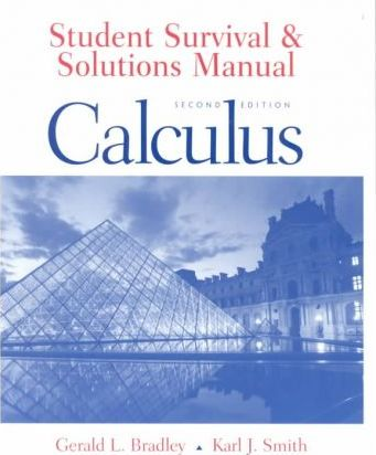 Student Survival and Solutions Manual