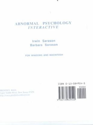 Abnormal Psychology Interactive