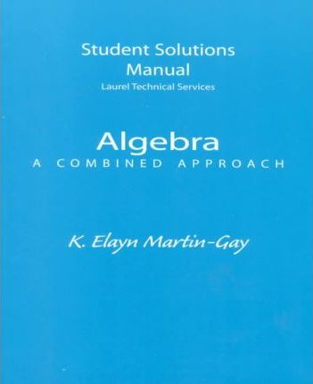 Student Solutions Manual