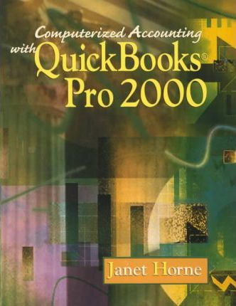 Computerized Accounting with QuickBooks Pro 2000