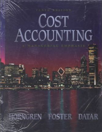 Cost Accounting+s/G Pk