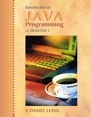Introduction to Java Programming with JBuilder 3