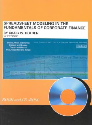 Spreadsheet Modelling in Fundamentals of Corporate Finance