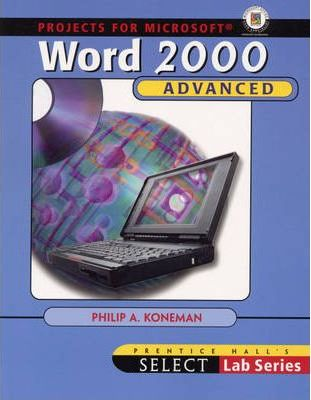 Advanced Projects for Microsoft Word 2000