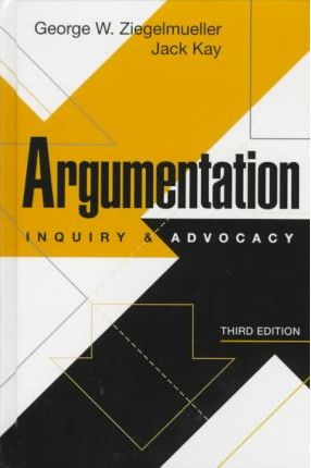 Argumentation: Inquiry and Advocacy