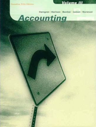 Accounting: Chapters 19-26 v. 3