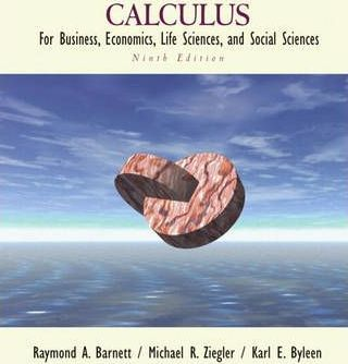 Calculus for Business Economics Life Science and Social Science
