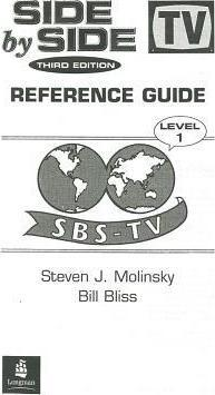 Side by Side 1 Reference Guide 1