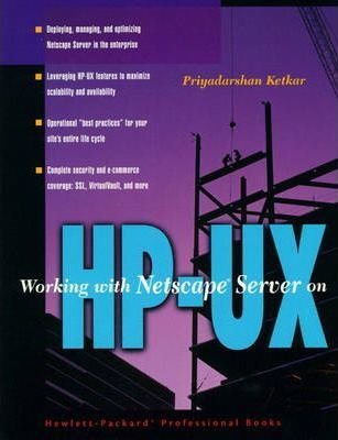 Working With Netscape Server on HP-UX