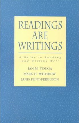 Readings are Writings