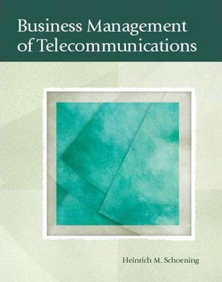 Business Management of Telecommunications