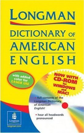 Paper, Two-Color Version, Longman Dictionary of American English