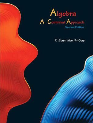 Algebra a Combined Approach (Hardcover)