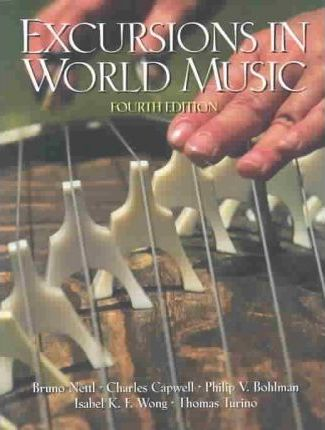 Excursions in World Music & Study Guide Package