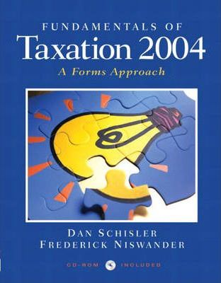 Fundamentals of Tax 2004 and Taxact 2003 Package