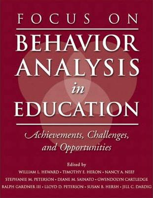 Focus on Behavior Analysis in Education