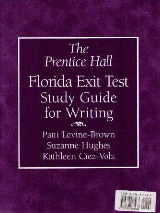 The Prentice Hall Florida Exit Test Study Guide for Writing