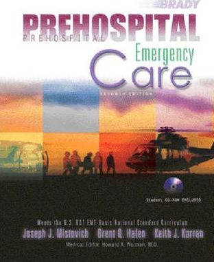 Prehospital Emergency Care (Cloth)