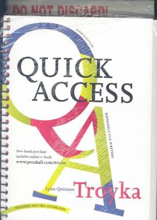 Quick Access and Student I-Book Package