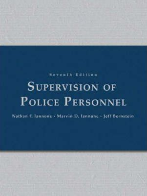 Supervision of Police Personnel