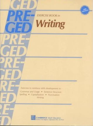 Pre-General Education Development Exercise Book in Writing