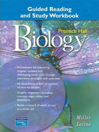 Prentice Hall Miller Levine Biology Guided Reading and Study Workbook Second Edition 2004