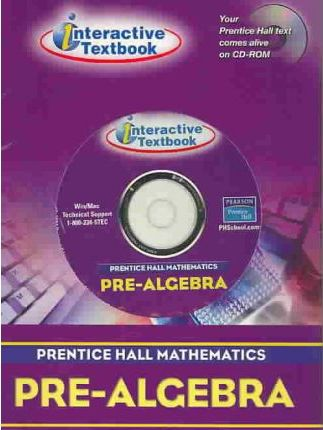 Prentice Hall Math Pre-Algebra Itext CD-ROM 2004 C