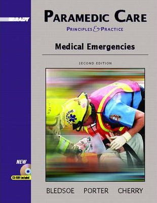 Paramedic Care: Medical Emergencies v. 3